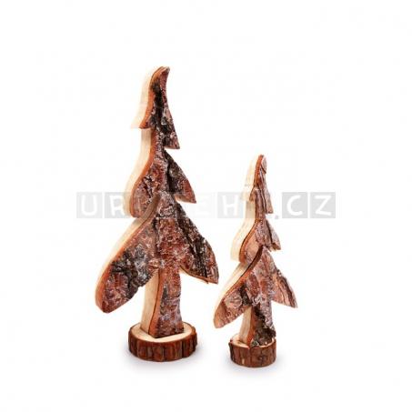Dekorativní stromek ze dřeva 2 kusy