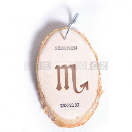 Klíčenka Znamení - Štír (5 kusů v sadě)