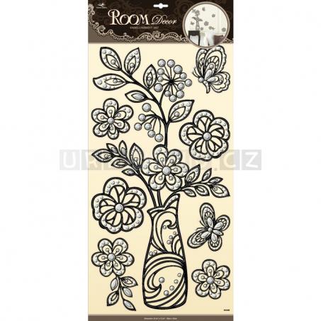 Dekorativní samolepky do pokoje - Flora