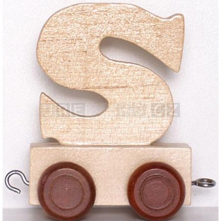 Písmenko vláček S