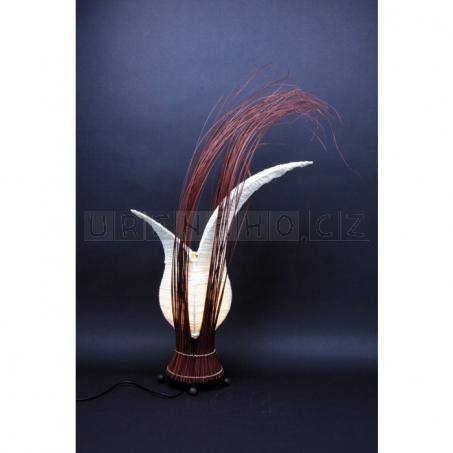 Proutěná lampa Tulip