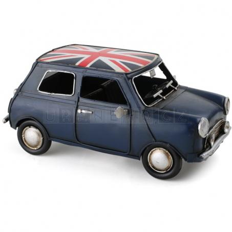 Mini Cooper UK - dekorácie Vintage