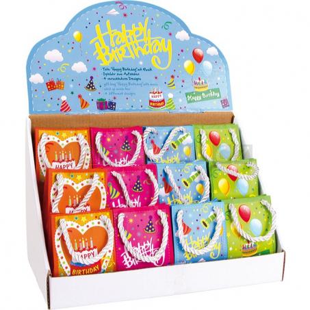 Hracie taška Happy Birthday, 12 kusov