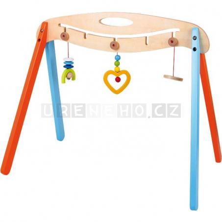 Drevená hrazdička pre bábätko