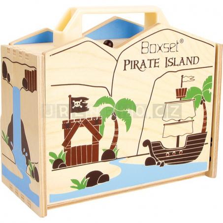 Pirátsky ostrov v kufri