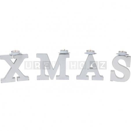 Vianočný svietnik X-Mas
