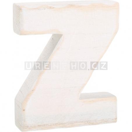 Drevené písmeno Z