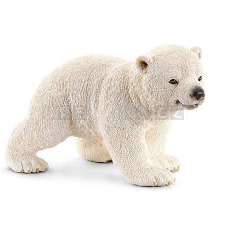 Schleich Mládě ledního medvěda běžící