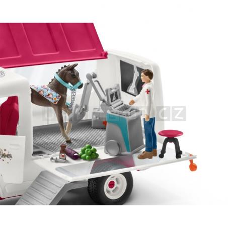 Schleich 42370 Mobilní veterinářská klinika s příslušenstvím [42370]