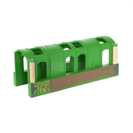 BRIO Zahnutý tunel [33709]