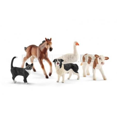 Schleich 42386 Farmářská zvířata set 5 kusů  [42386]