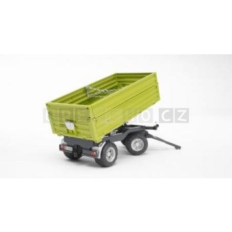 Bruder 2203 Sklápěcí vůz FLIEGL třístranný zelený [02203]