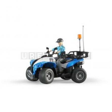 Bruder 63010 Policejní čtyřkolka s figurkou policistky [63010]