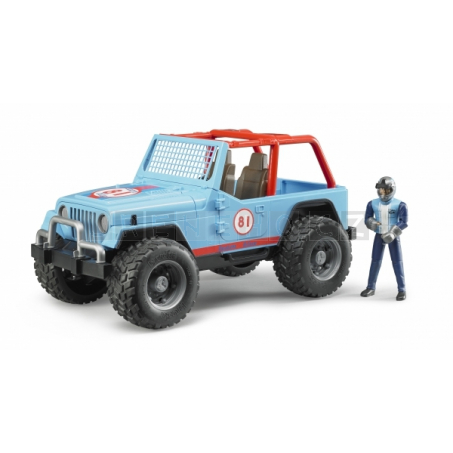 Bruder 2541 Jeep WRANGLER Cross Country Racer [02541]