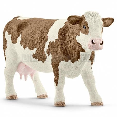 Schleich 13801 Kráva simmentálská