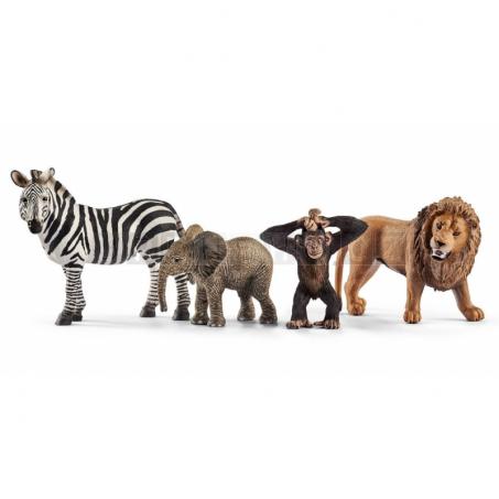 Schleich 2387 Set divoká zvířátka