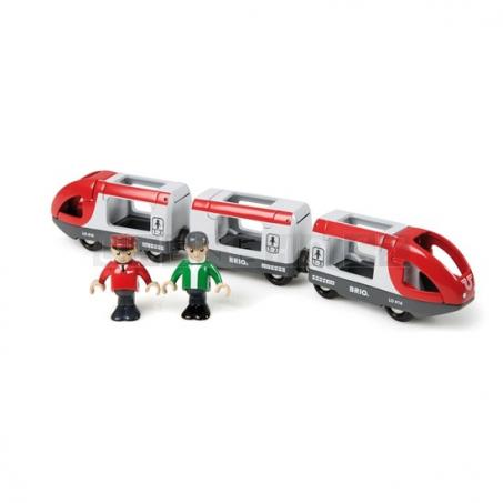 BRIO Osobní vlak s vagonky [33505]