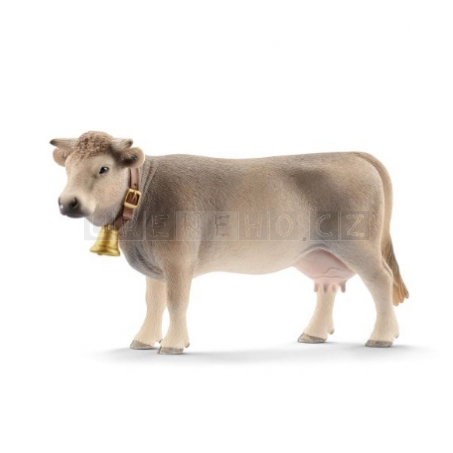 Schleich 13874 Hnědý horský skot kráva