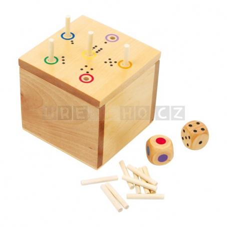 Kostka dřevěná - hra