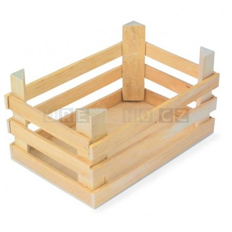 Přepravka dřevěná velké (3 kusy v sadě)