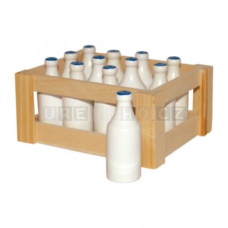 Mléka v přepravce