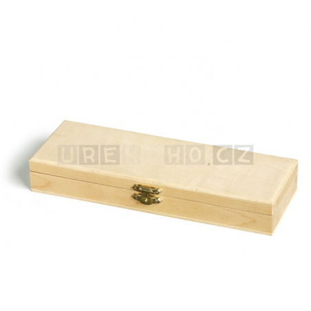Dřevěný penál s počítadlem