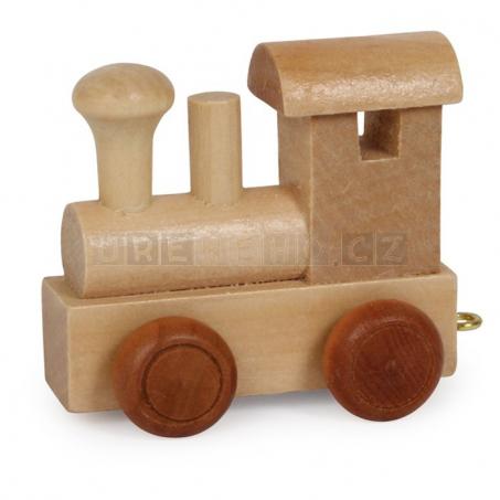 Lokomotiva - začátek vláčku
