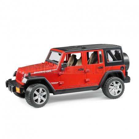 Bruder 2525 Jeep Wrangler Rubicon [02525] červený