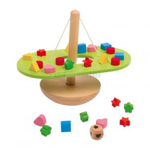 Balanční houpačka - hra s kostkou