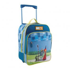 Dětská taška na kolečkách a kufřík Rytíře Rosta