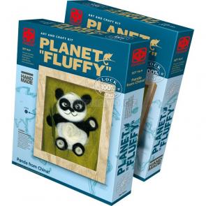 Plstený obraz Panda