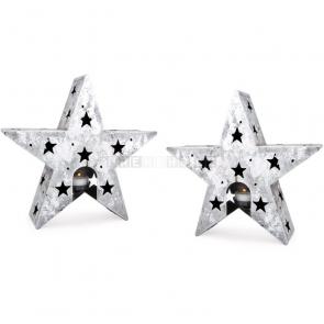 Stojan na čajovú sviečku Hviezda, 2 kusy