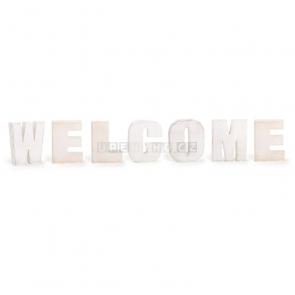 Welcome dekorácie nápis