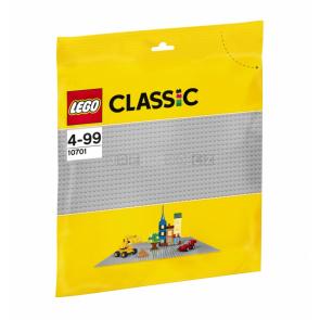 LEGO Classic 10701 základní podložka šedá 32x32 cm