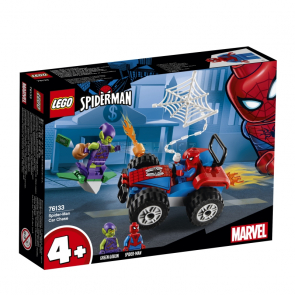 LEGO Super Heroes 76133 Spiderman a automobilová honička [76133]