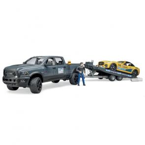 Bruder 2504 Terénní auto RAM se závoďákem a figurkou [02504]