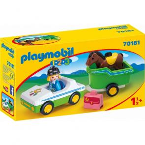 Playmobil 70181 Auto s přívěsem pro koně [70181]