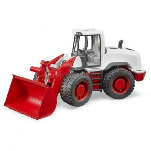 Bruder 03410 Nakladač čelní model červeno buldozer bílá 1:16 [03410]