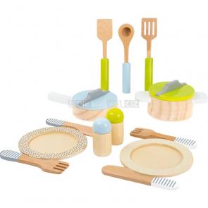 small foot Dřevěné základní nádobí do kuchyňky [11098]