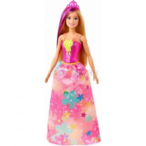Mattel Barbie Kouzelná princezna růžová Dreamtopia GJK13