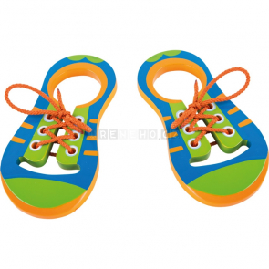 small foot Hra Zavaž si tkaničku Pár bot [10152]