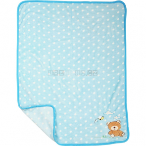 Plyšová deka pro miminko Medvídek [10287]