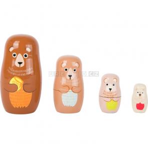 small foot Matrjoška medvědí rodina [10621]