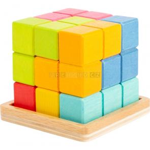 small foot Dřevěný 3D tetris [11346]