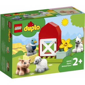 LEGO Duplo 10949 Zvířátka z farmy [10949]