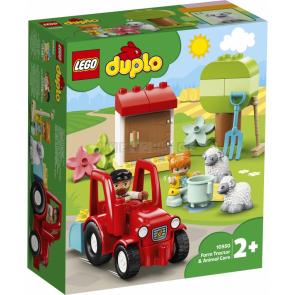 LEGO Duplo 10950 Traktor a zvířátka z farmy [10950]