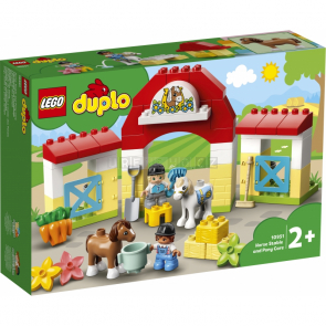 LEGO Duplo 10951 Stáj s poníky [10951]