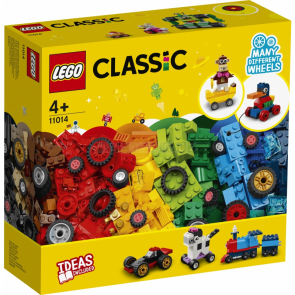 LEGO Classic 11014 Kostky a kola [11014]