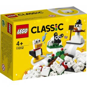 LEGO Classic 11012 Bílé kreativní kostky [11012]