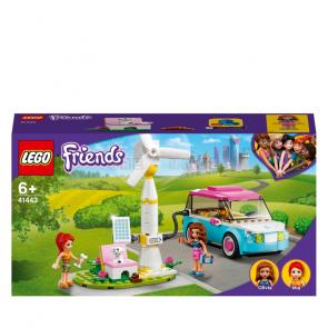 LEGO Friends 41443 Olivia a její elektromobil [41443]